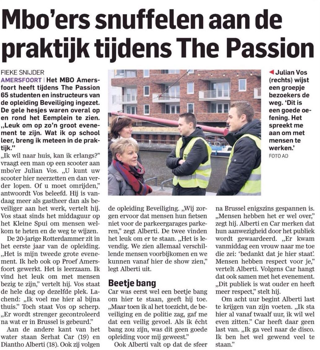 20160316 Artikel AD MBOA The Passion
